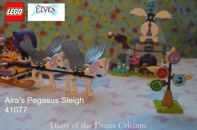 LEGO Elves Aira's Pegasus Sleigh Set 41077