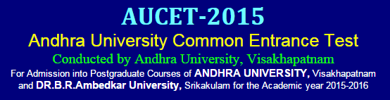AUCET Hall Ticket / Admit Card Download 2015 at www.audoa.in