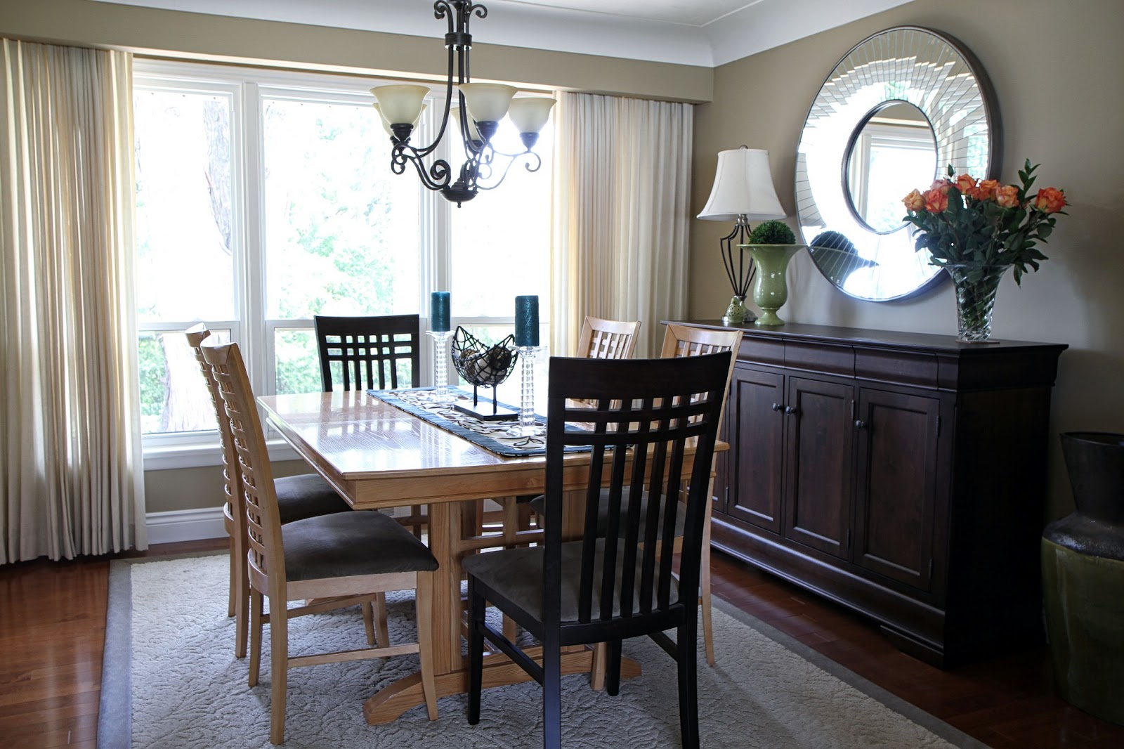 Delicious decor client living and dining room for M s living room accessories