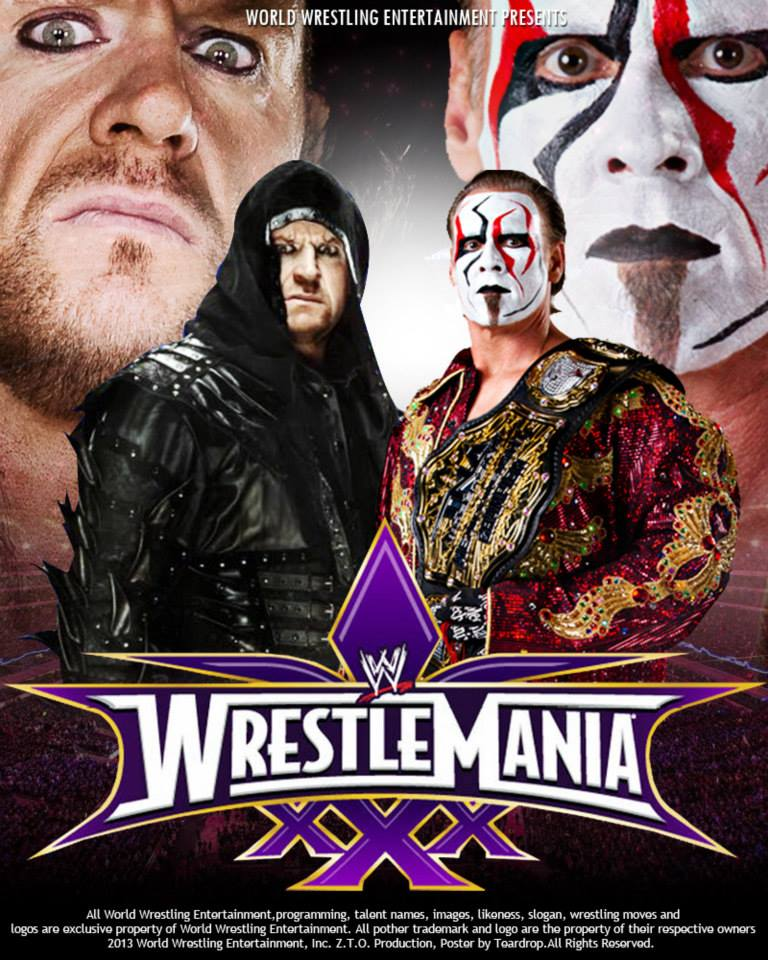 The TeardropTC Show: The Undertaker vs Sting Wrestlemania 30