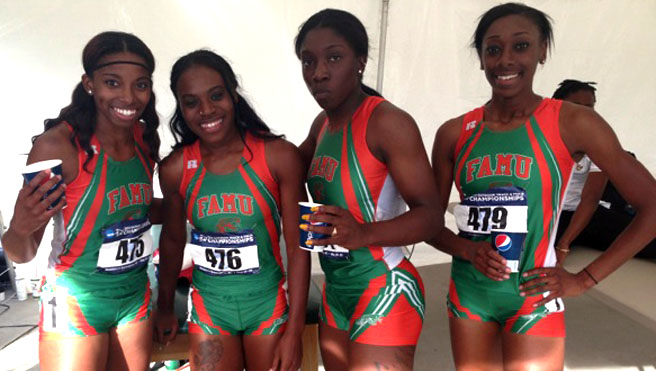 Lady Rattler 4x100m Team Qualifies For NCAA Championships
