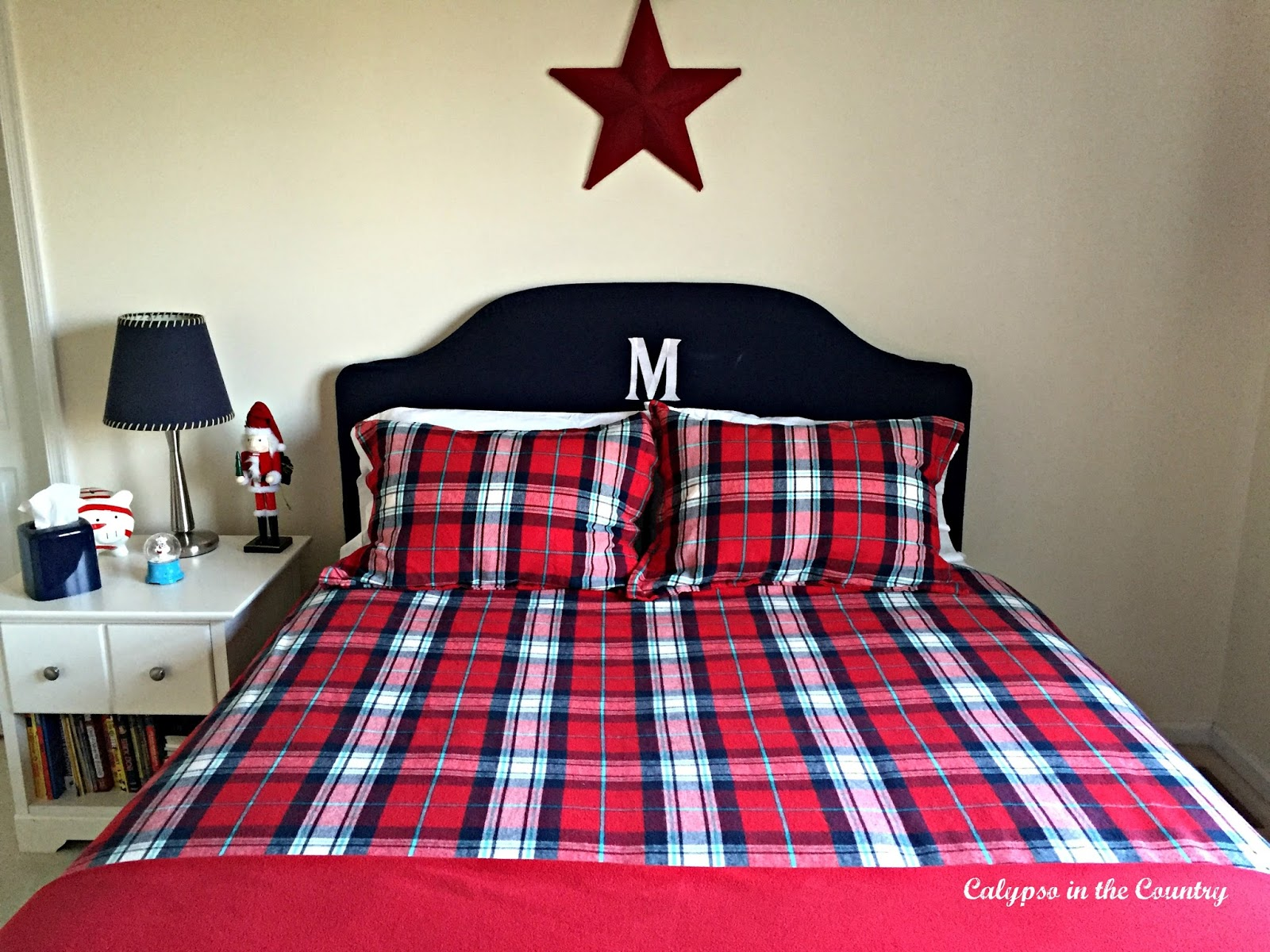Red and Blue Kids Bedding