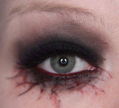 Makeup your Jangsara: Halloween tutorial: Scary sexy character Sexy Halloween Eye Makeup