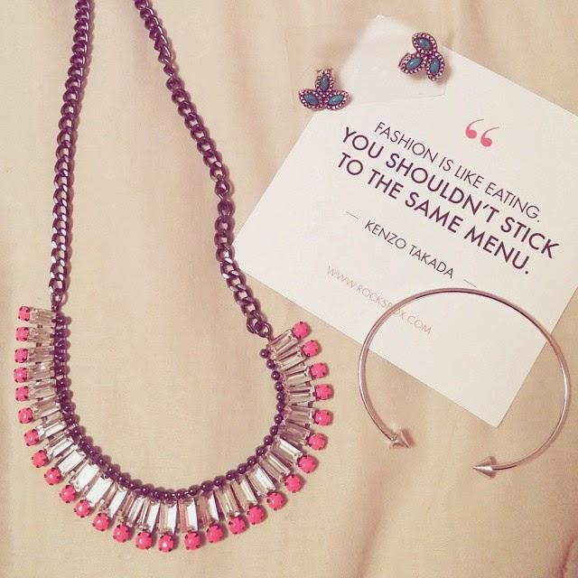 wanderlust & co spike bracelet