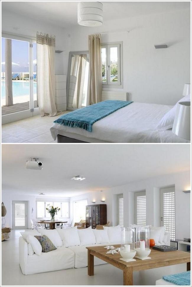 Interieur maison grece for Decoration maison winners