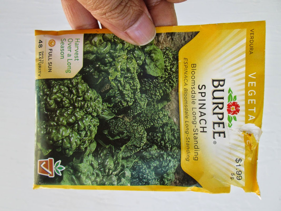 Burpee Spinach Seeds