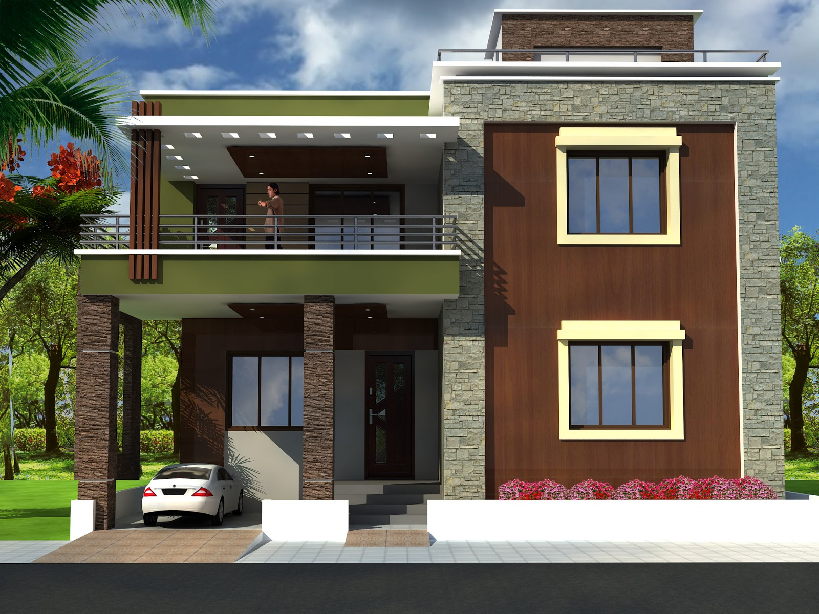 Bedroom House Bungalow In Nigeria in addition House Plans Designs ...