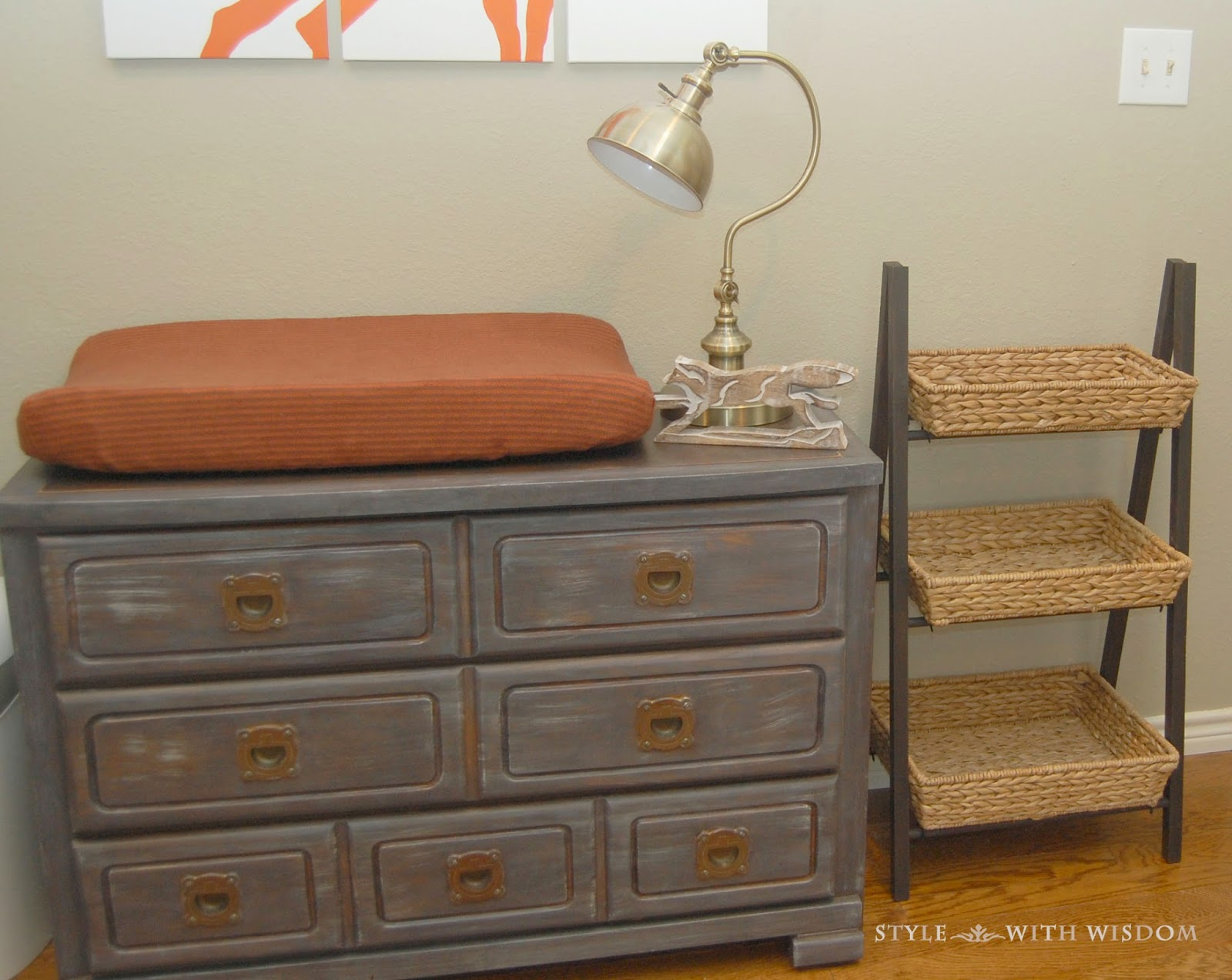 Woodland Nursery Changing Table