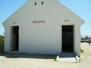 Disabled Travel -  Mejanes, Camargue Wheelchair access toilet