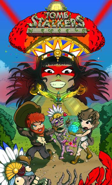 Itchy Games presenta Tomb Stalkers, un juego inspirado en Oh Mummy! que podréis probar en RetroSevilla