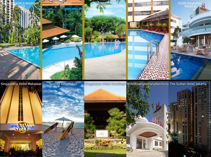 singgasana dan hotels resorts terbaik di indonesia