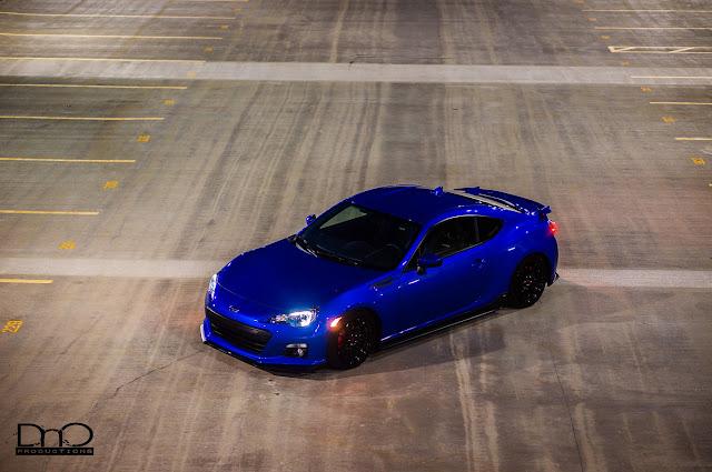 Subaru BRZ, niebieski, nowe coupe