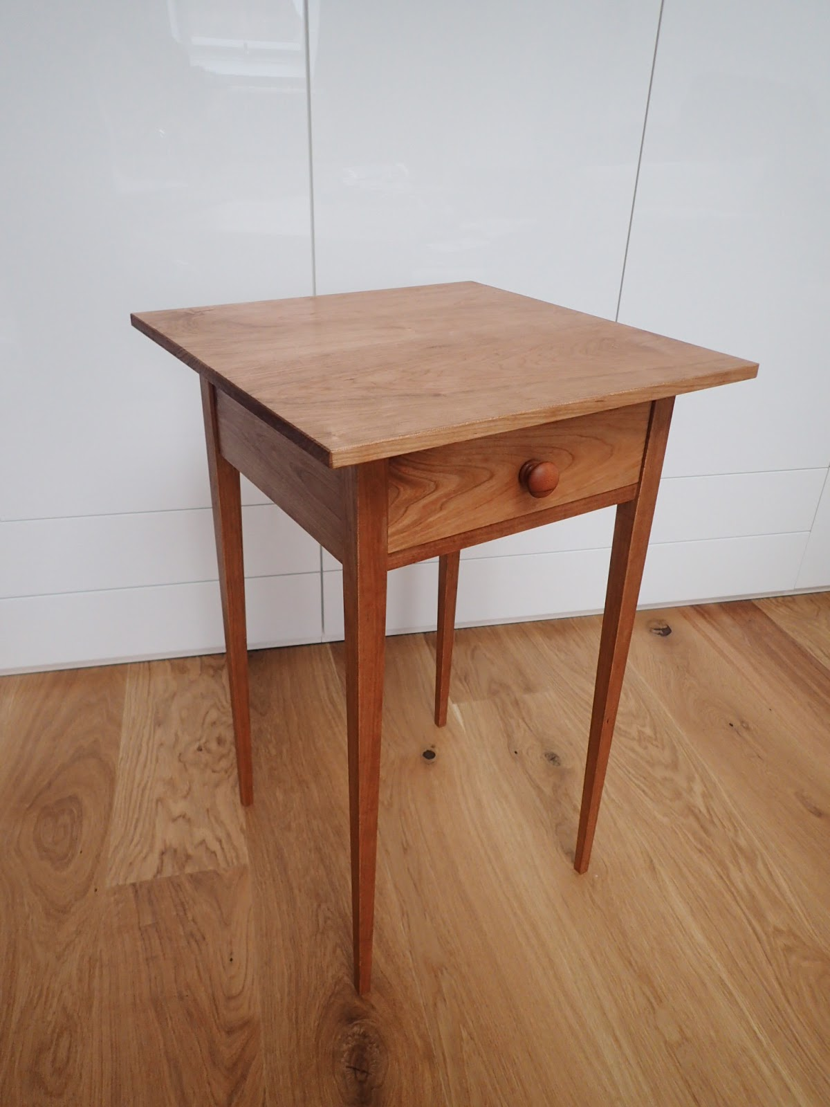Shaker Side Table   Finished