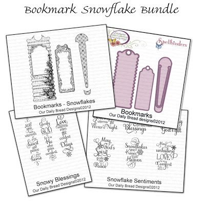 Our Daily Bread Designs Bookmark Snowflakes Bundle