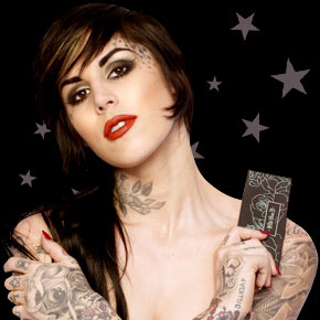 kat von d tattoos designs