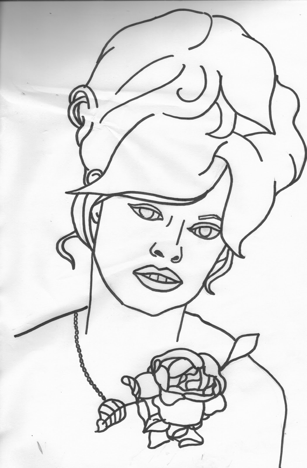 coloring pages famous singers - photo#21
