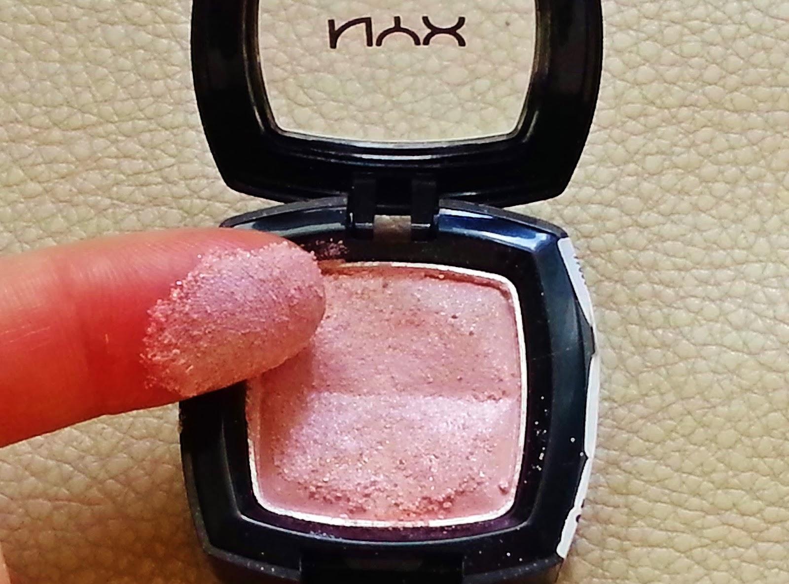 NYX Platinium Pink Tekli Far
