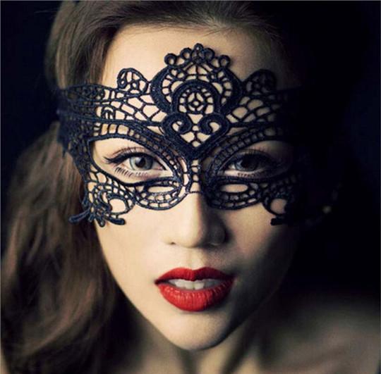 Halloween Gift Sexy Lady Lace Mask Eye Masquerade Mask wedding