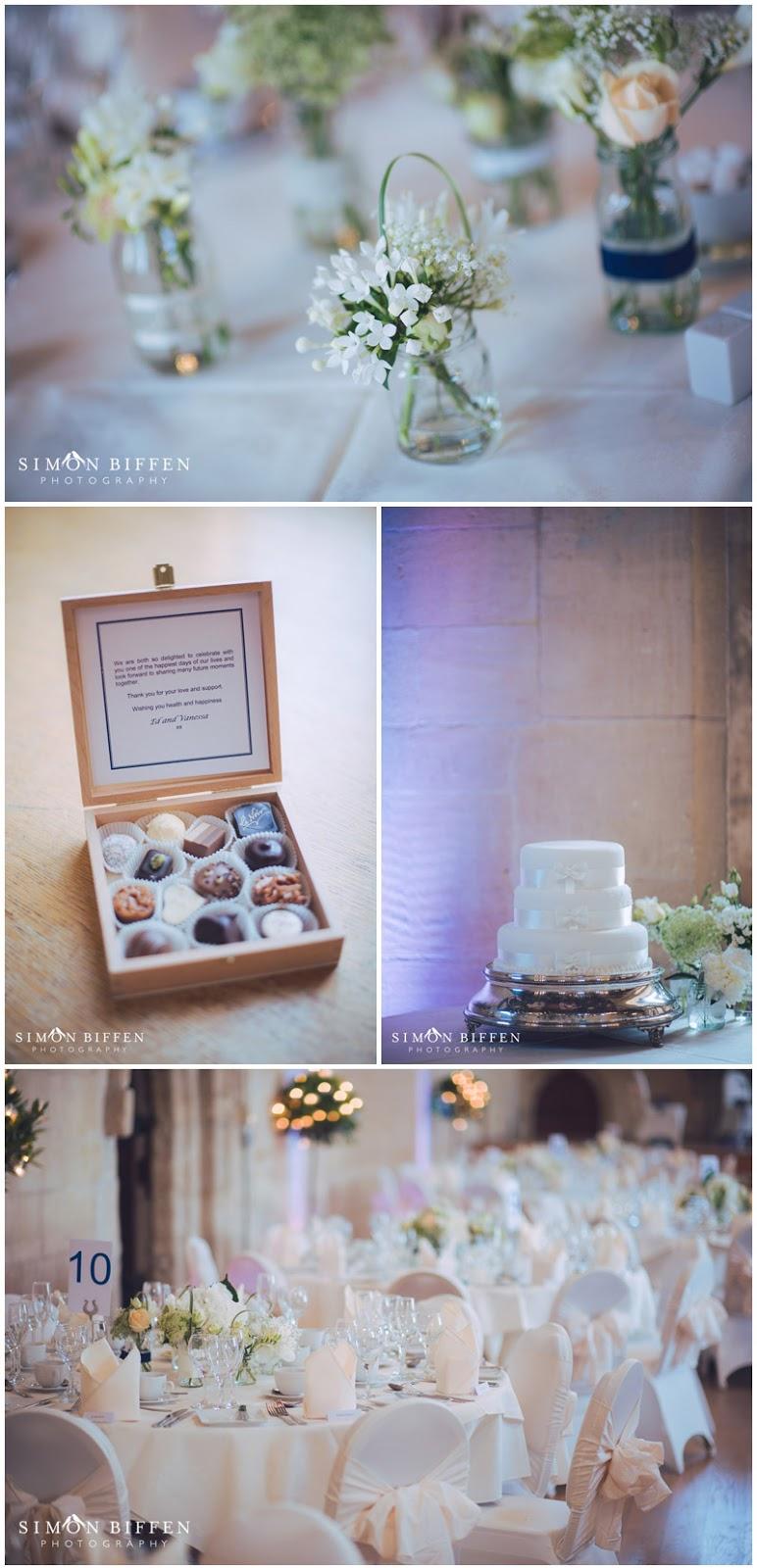 St Donat's Castle wedding reception details