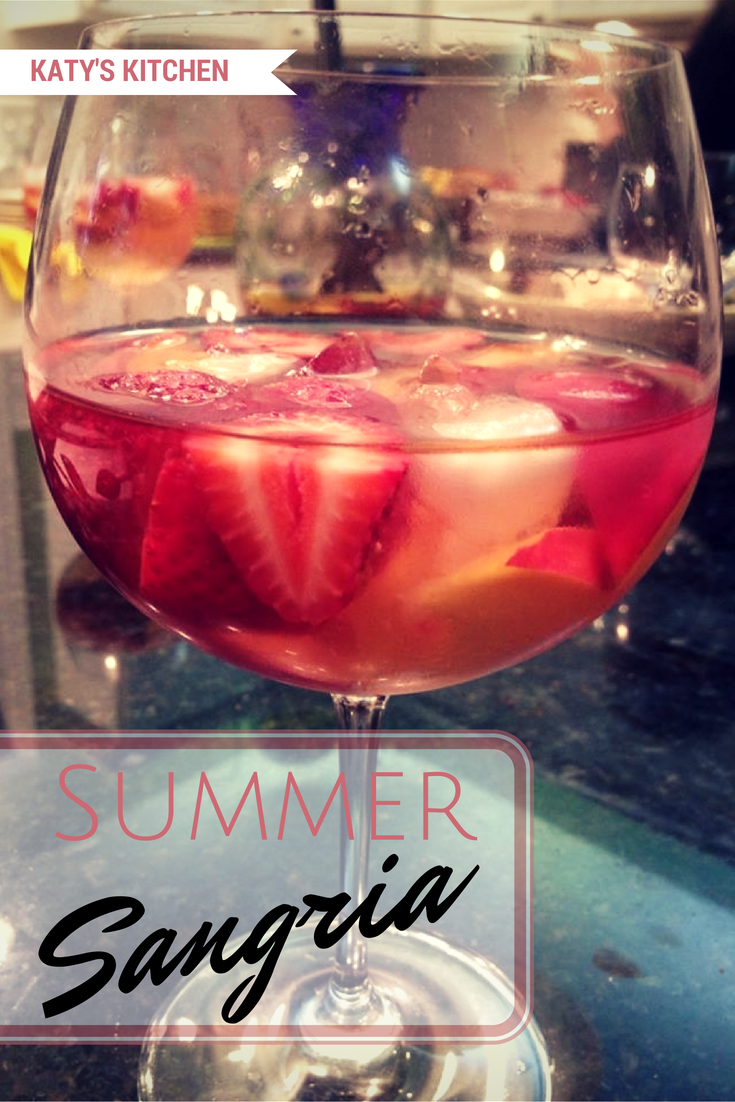 SUMMER SANGRIA on Katy's Kitchen