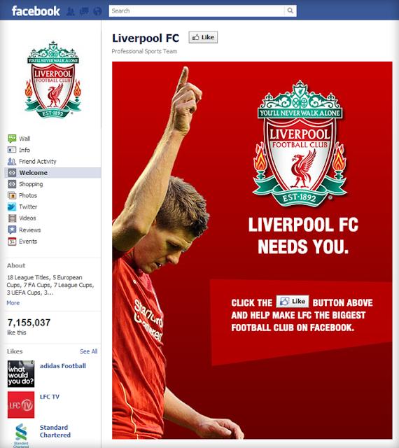 Liverpool fan page