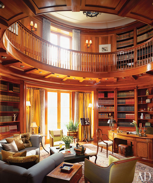 Home Library: Mix And Chic: Beautiful And Inspiring Home Libraries