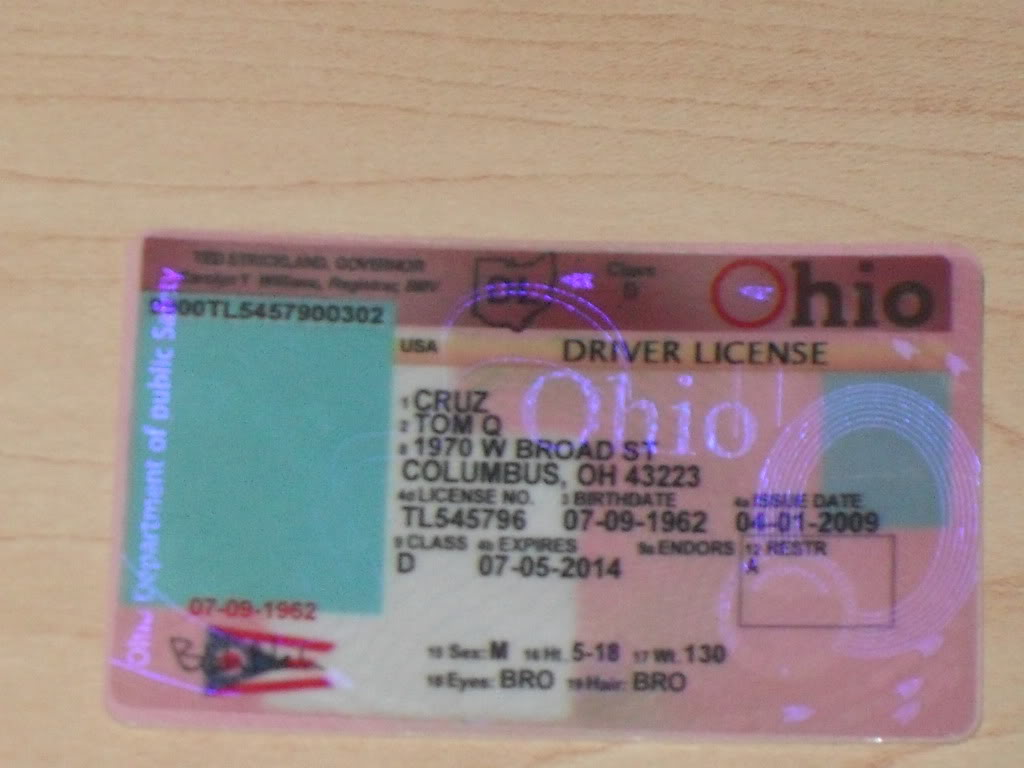 New Florida Drivers License >> XyliBox: Plastic Services: Fake United States Cards
