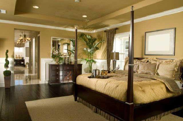 desain kamar tidur klasik modern victorian