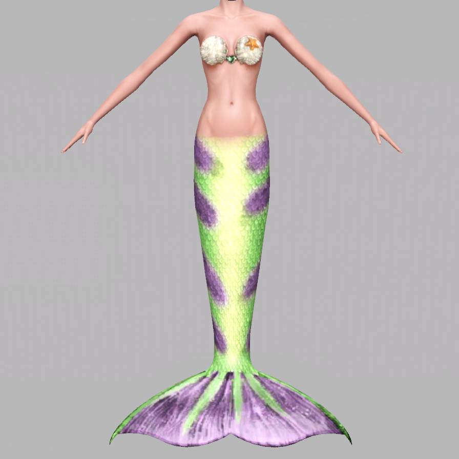 My sims 3 blog fishtales inspired mermaid tail by spinningplumbobs