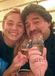 Maradona Dating River Plate Women Player; 30-Yrs His Junior