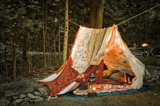camping teepee