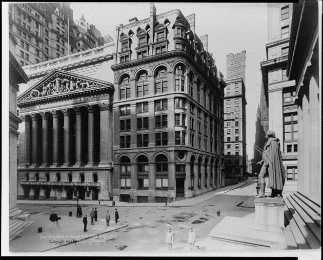 new york stock exchange 1921