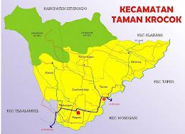 Peta Desa Paguan Dalam Peta Kecamatan Taman Krocok