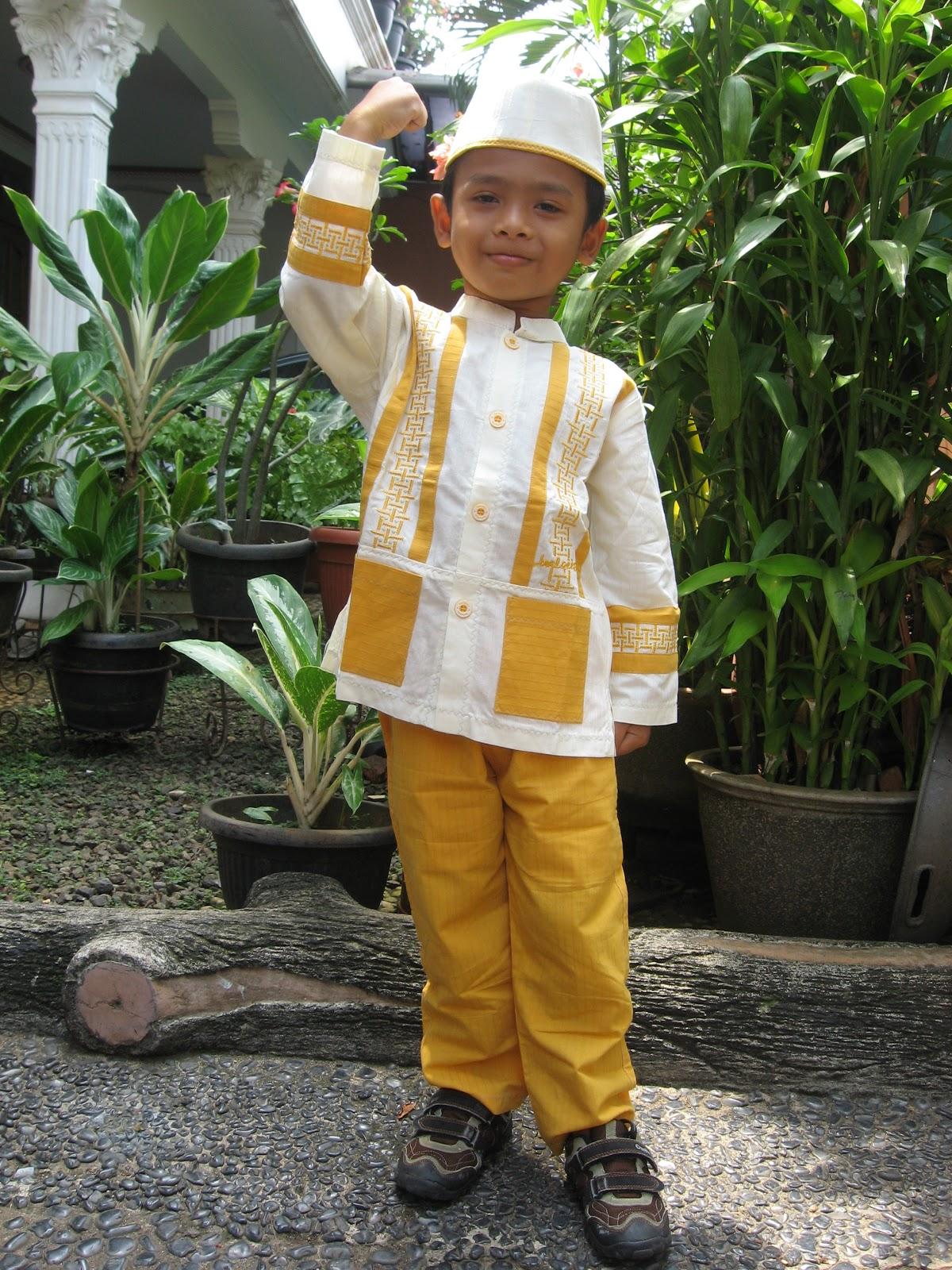 Baju Gamis Anak Pria Bayi Berompi Motif Flower Hello Kity 6 12 Bln Available 4 Color Modelbaju24 Model Koko Laki Terbaru