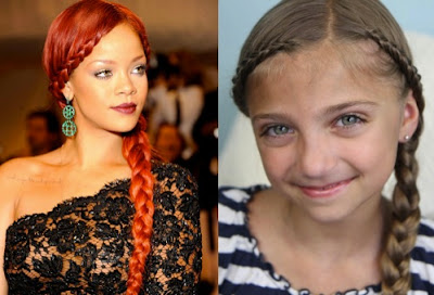 Geflechte zu Rihanna