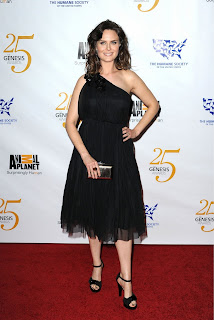 Emily Deschanel at the Genesis Awards