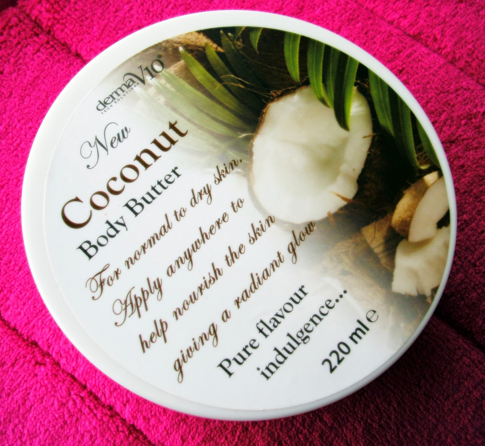 Derma V10 Coconut Body Butter