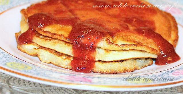 Clatite americane - pancakes