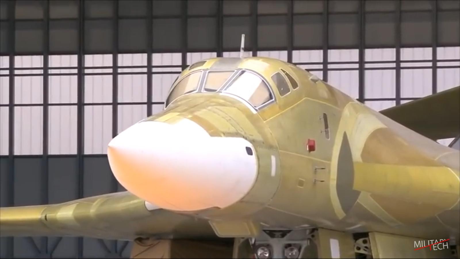 Tupolev tu-160 M-2 'Cisne Branco'