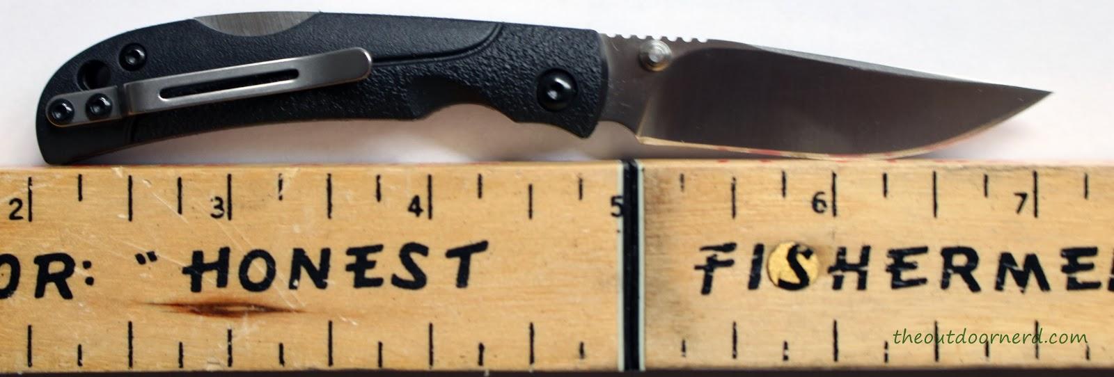 SanRenMu ZB-681 Pocket Knife - Next To Ruler