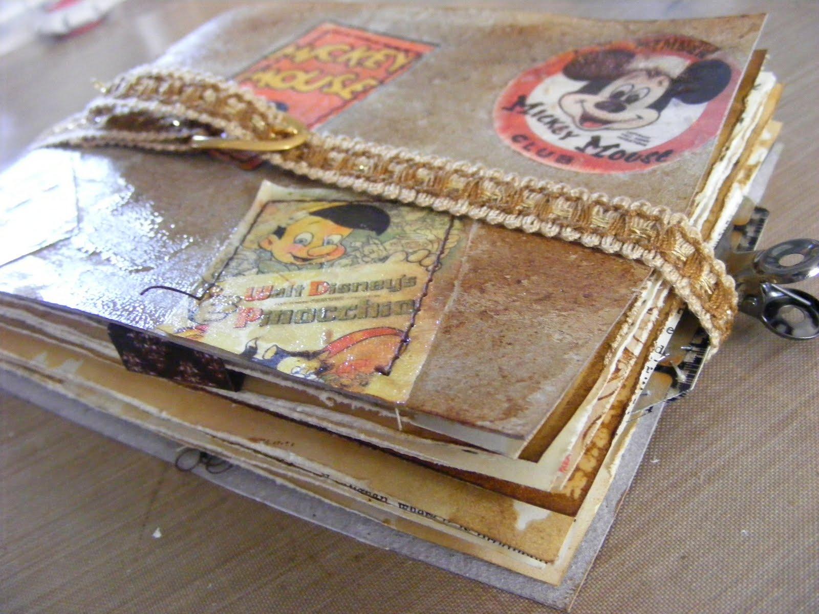 Vintage Follie Vintage Scrapbook Example No 2