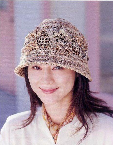 house handmade: Crochet hat for women, free crochet patterns