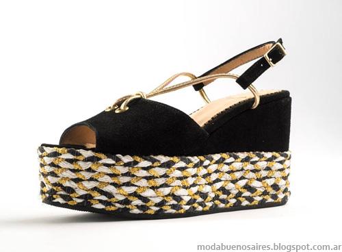 Zapatos Lomm verano 2014. Sandalias y Chatas 2014.