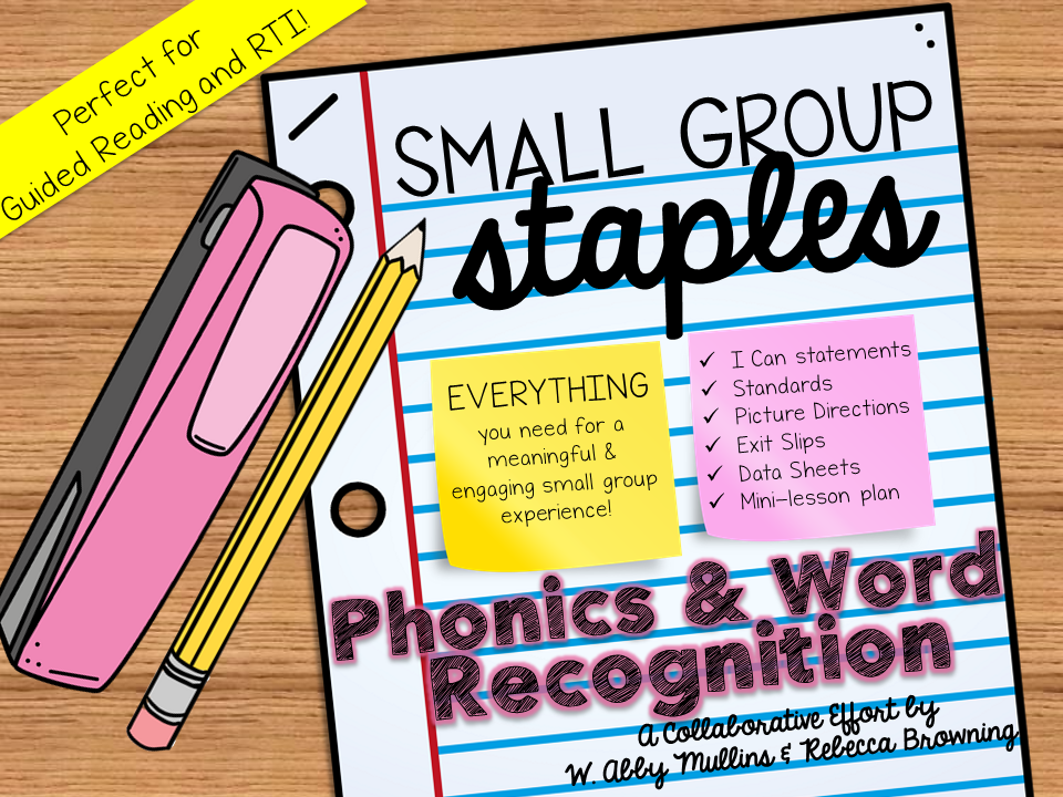 http://www.teacherspayteachers.com/Product/Small-Group-Staples-Phonics-and-Word-Recognition-1518524