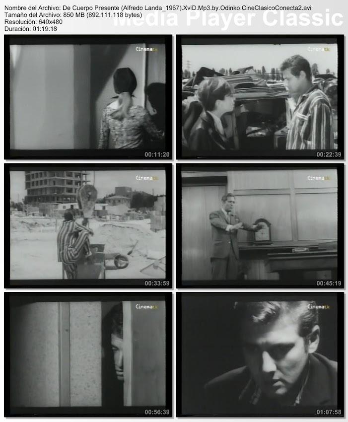 De cuerpo presente | 1967, capturas, secuencias de la película