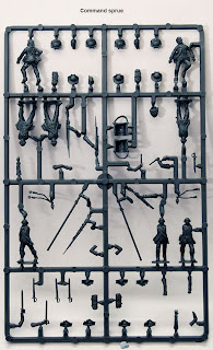 Perry Miniatures AWI British Infantry AW200 - Command Sprue