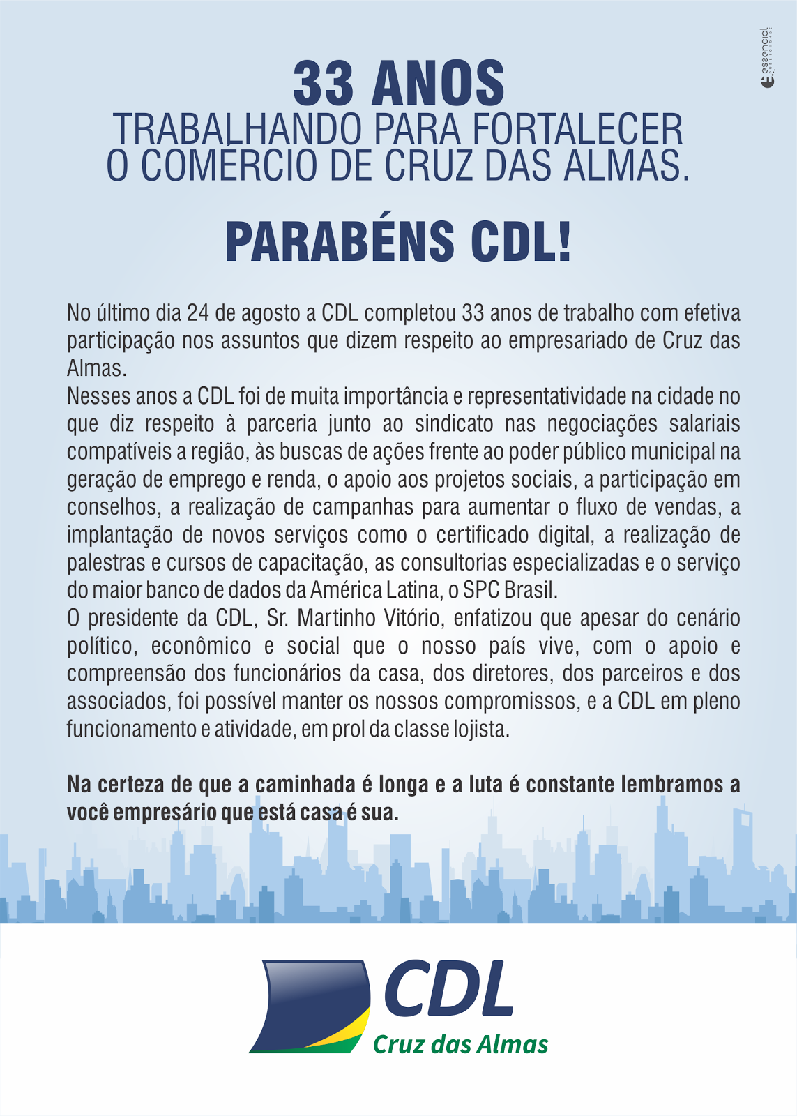 Aniversario CDL