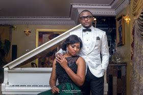 Lilian Esoro And Ubi Franklin Beautiful And Romantic Pre-wedding shoot