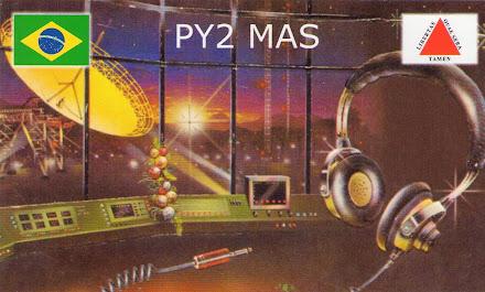 QSL  DE  PY2MAS