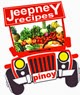 An illustration of red jeep full of fruits and vegetables inside